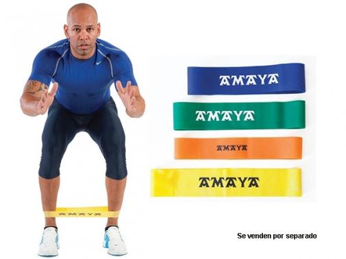 miniband, loops thera-band, rubber band, anillo elastico, goma elastica