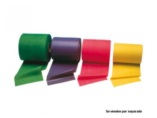 banda elastica, thera-band, rollo thera-band, rollo banda elastica, flexamed