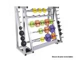 soporte barras discos 30 mm, soporte material peso 30 mm