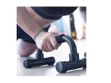 soporte flexiones, juego barras flexiones