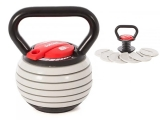 kettlebell ajustable hasta 9 kg, kettlebell ajustable