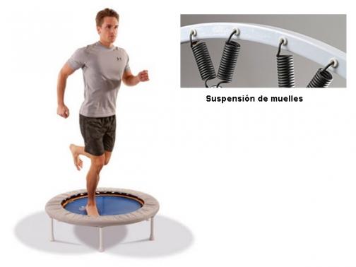 trampolin, cama elastica, trimilin, cama elastica media, med trimilin