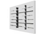 soporte pared barras olimpicas, soporte pared barras de peso