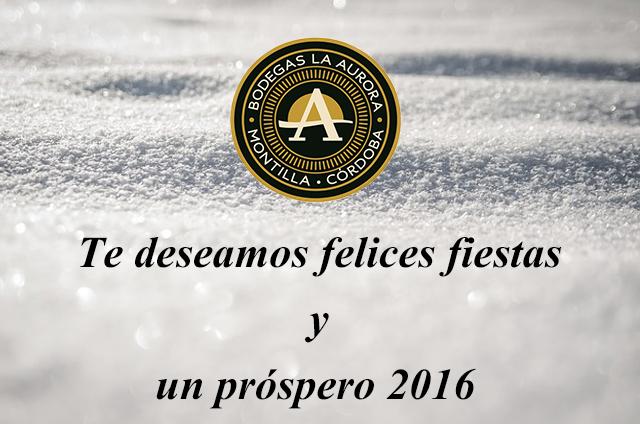 Felices fiestas y un prospero 2016