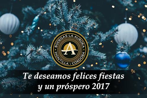 felices fiestas y un prospero 2017