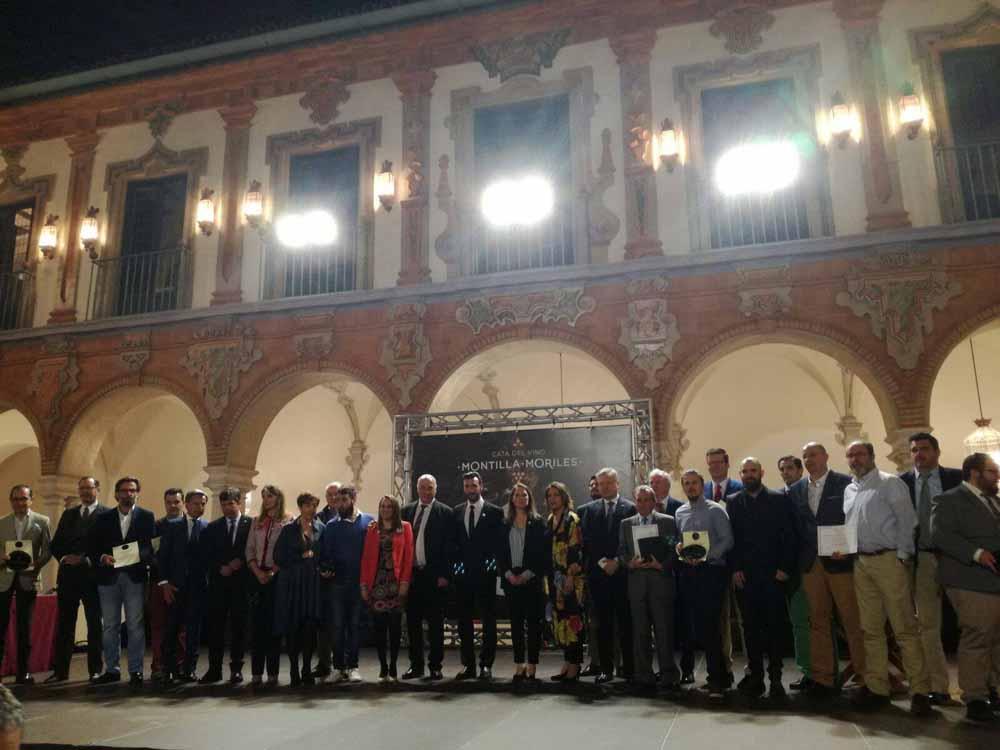 Inauguración Oficial 35 Cata Montilla-Moriles Entrega de premios D.O. Montilla-Moriles