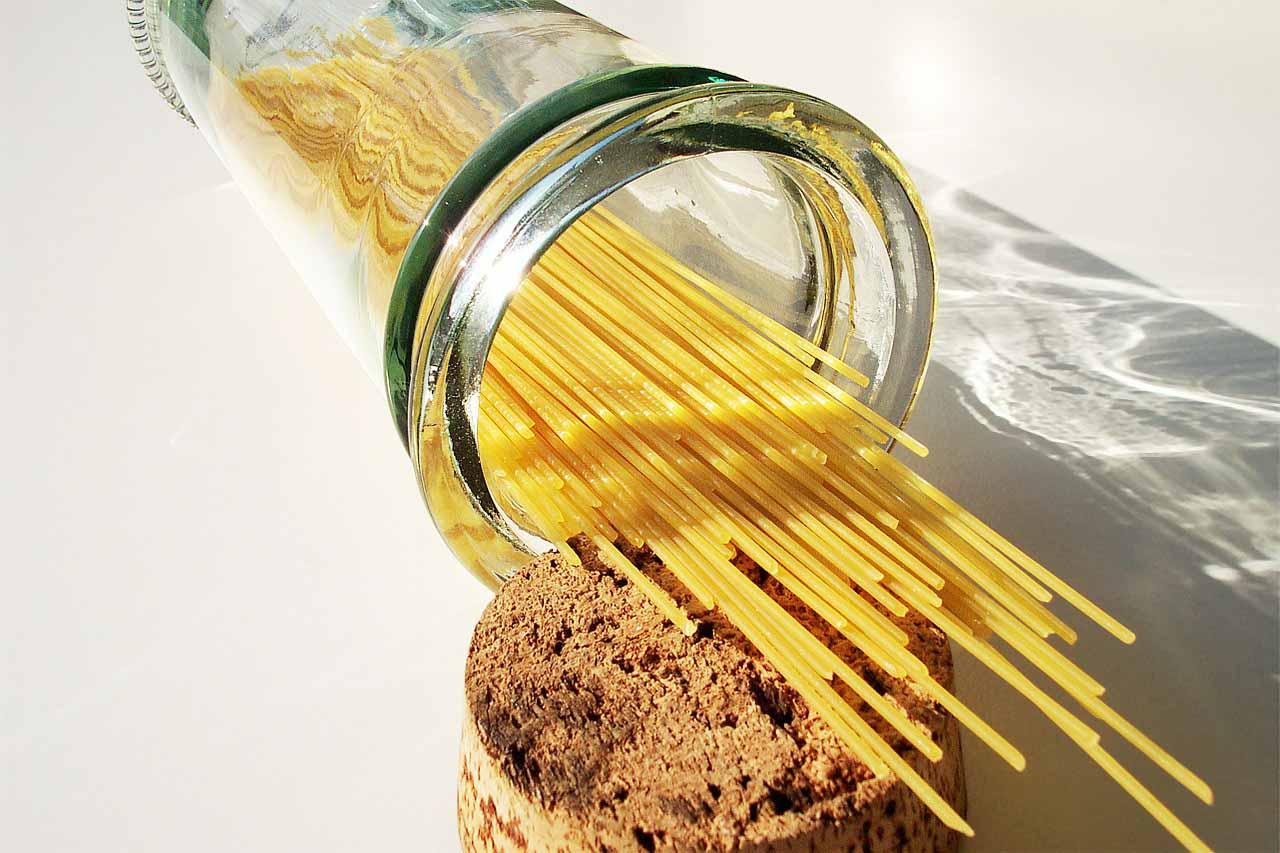 Espaguetis con Aceite de Oliva Virgen Extra Bona Dea