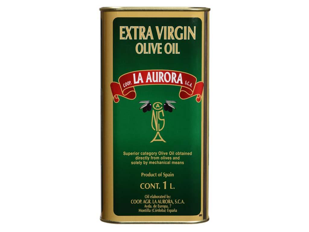 Aceite de Oliva Virgen Extra La Aurora lata 1l Ingles