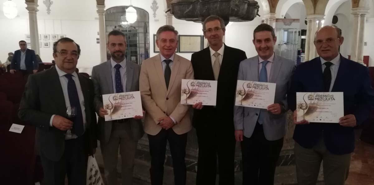 Recogida de los cuatro Premios Mezquita 2019 3