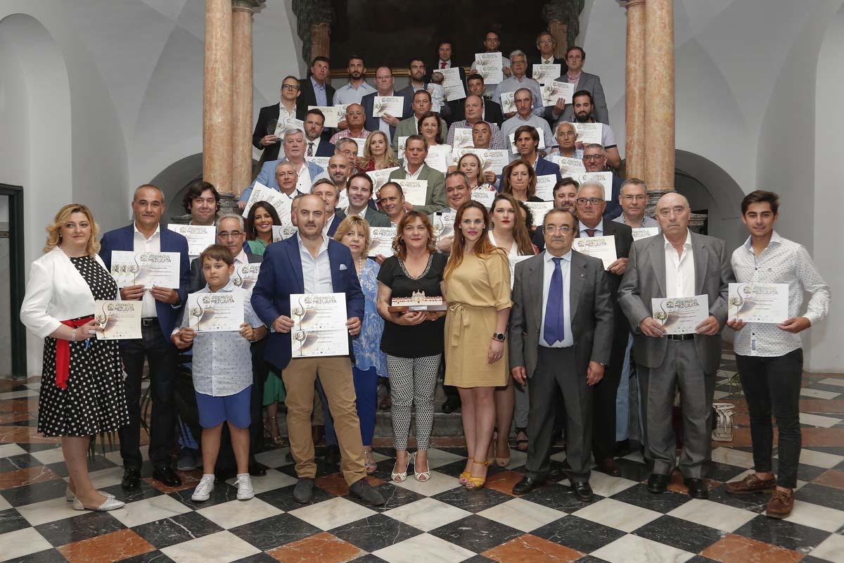 Recogida de los cuatro Premios Mezquita 2019 4