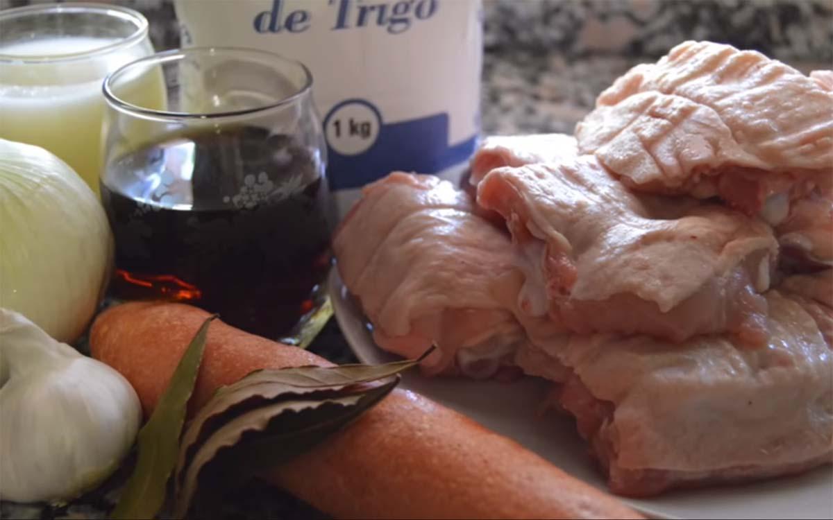 Pollo al vermut 2