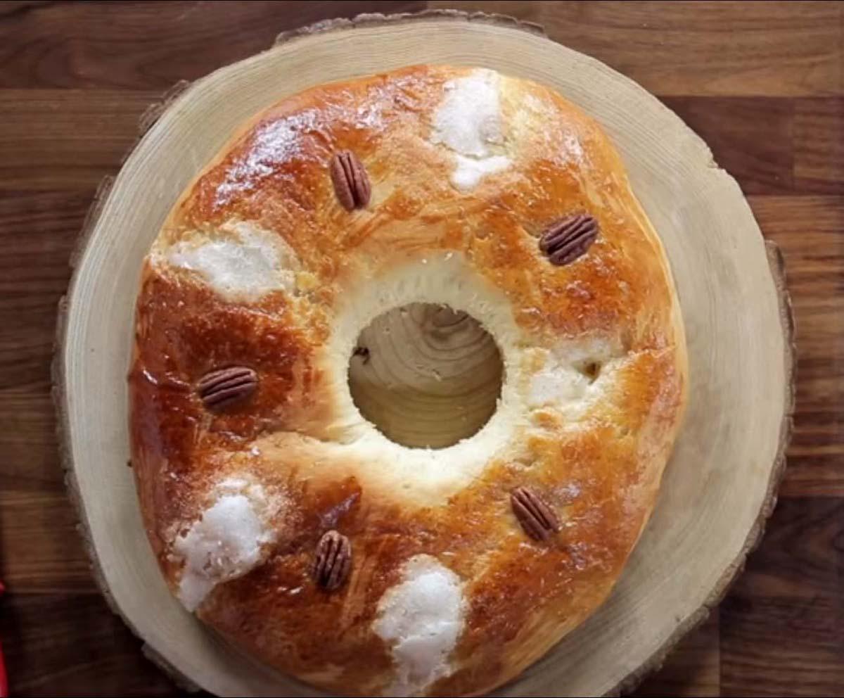 Roscón de Reyes fácil con Aceite de Oliva