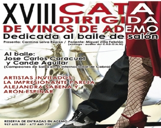 XVIII Cata dirigida de vinos de Ademo