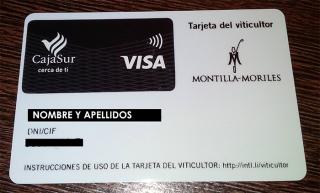 Solicita la tarjeta del viticultor de la Denominacion Montilla-Moriles