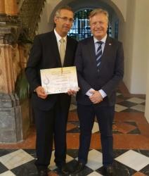 Recogida de los cuatro Premios Mezquita de nuestros vinos