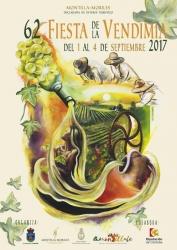 62 Fiesta de la vendimia en Montilla 2017