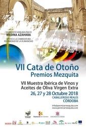 VII Cata de Otoño Premios Mezquita 2018