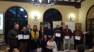 """Enhorabuena a los premiados en el Concurso Primera Mancha de Mildiu """"Pedro Cabezuelo"""" 2018"""