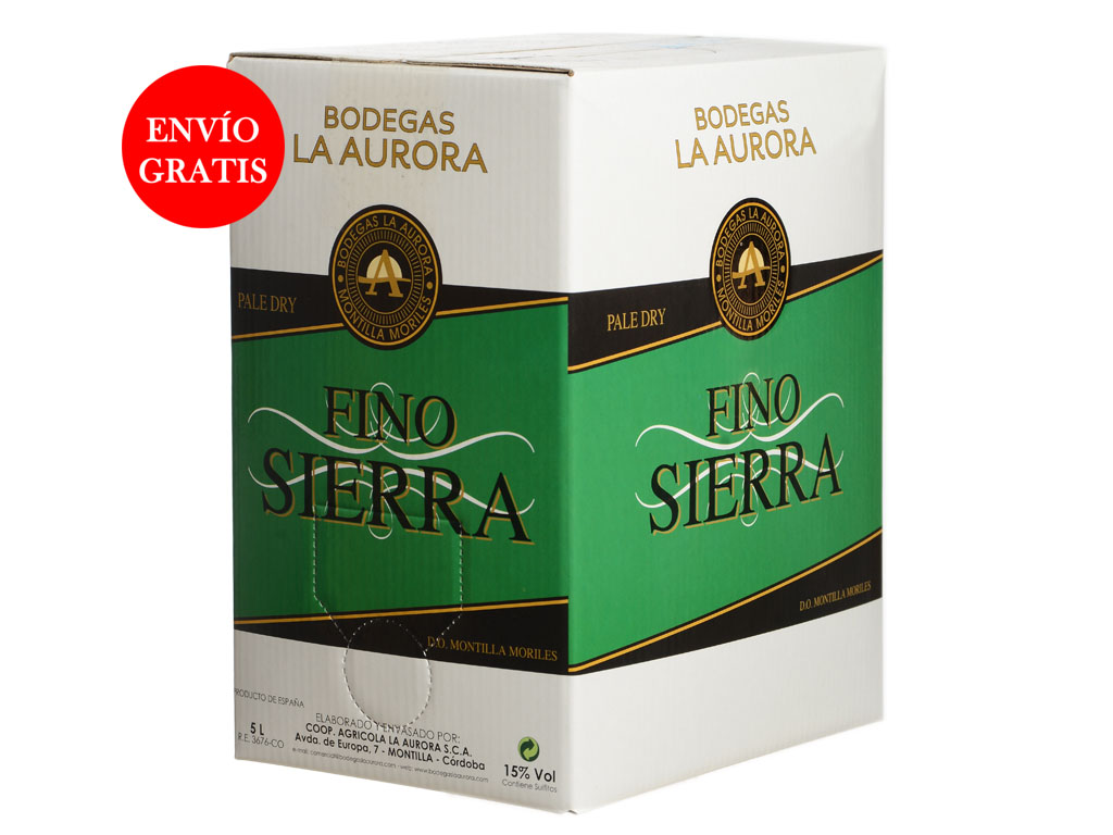 Vino Fino Sierra (Bag in box)