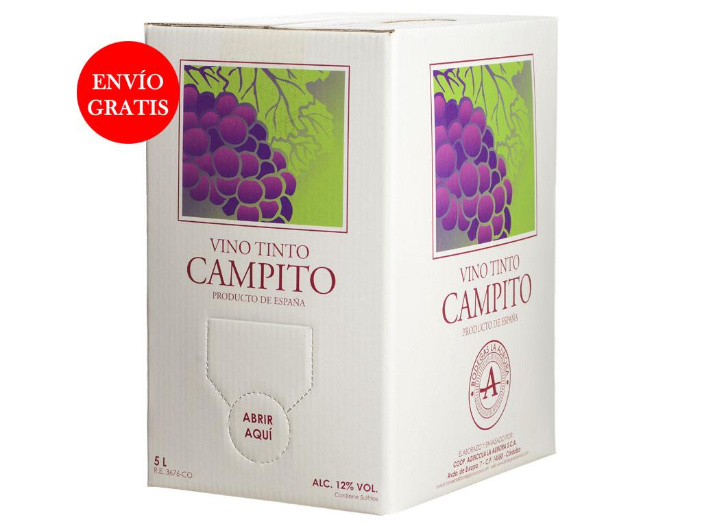 Vino Tinto Joven Campito (Bag in box)