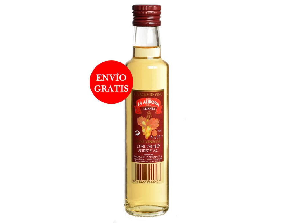 Vinagre de Vino La Aurora - Cristal 250 ML (12 Botellas)