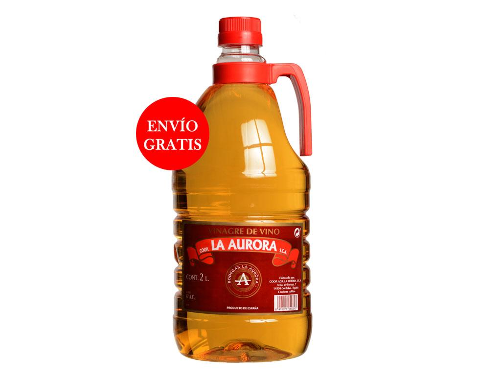 Vinagre de Vino La Aurora - Pet 2L (6 Botellas )