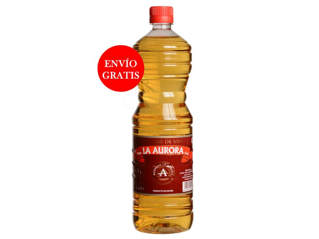 Vinagre de Vino La Aurora - Pet 1L (15 Botellas )