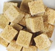azúcar moreno terrón