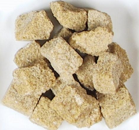azúcar moreno terrones irregulares