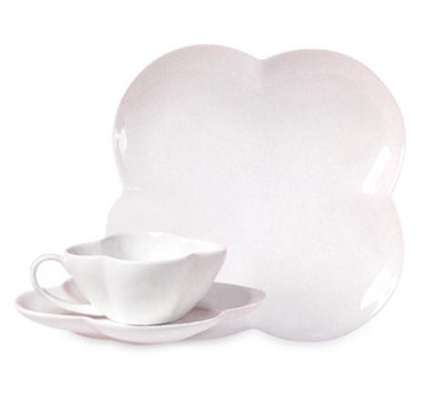tazas porcelana blanca