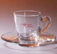 taza café cristal