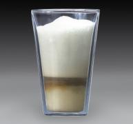 vasos doble cuerpo café