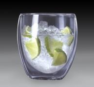 vasos doble cristal