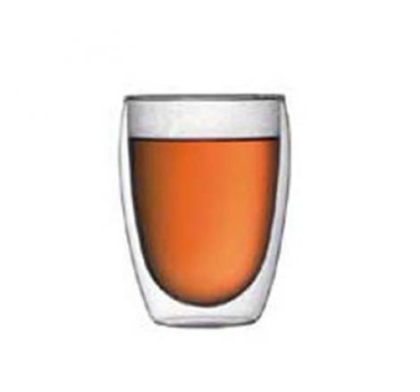 vaso doble cristal