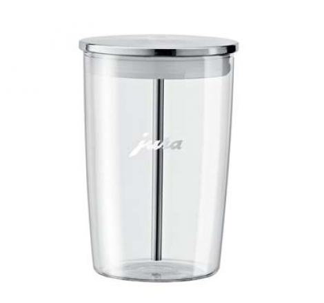 contenedor leche cristal Jura
