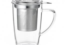 taza cristal con filtro