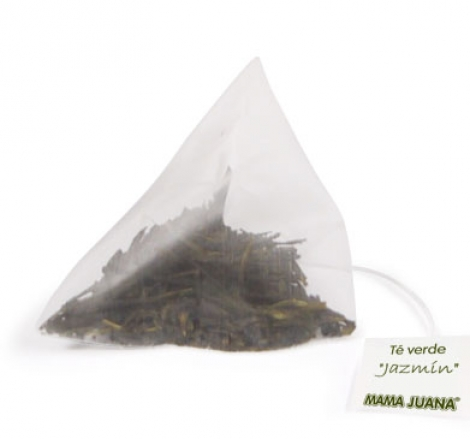 té verde pirámide