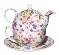 juego de té tetera porcelana