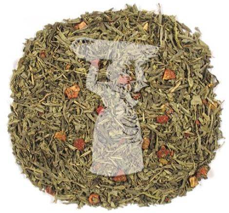té verde desteinado