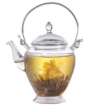Tetera flor de té