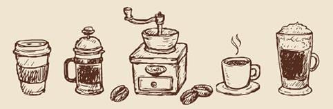 dibujo cafe
