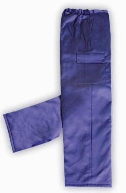 Pantalón con guata marino