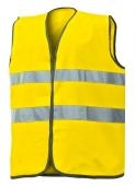 Chaleco alta visibilidad amarillo fluor