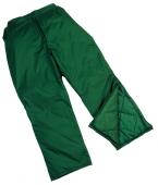 Pantalones y peto frío
