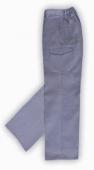 Pantalon laboral multibolsillos gris