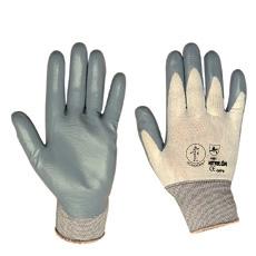 Guante nitrilo soporte nylon NITRILON gris