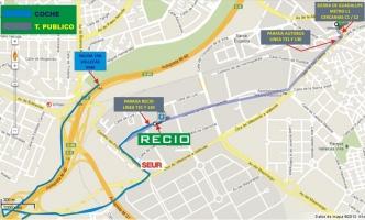 Como llegar Transporte Público / M40 dirección SUR