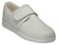Zapato tipo zueco blanco