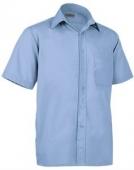 camisa laboral celeste