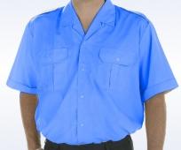 Camisa seguridad policía celeste